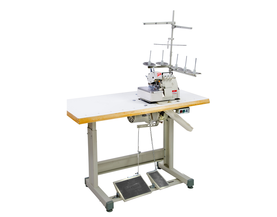 Model 40F Two Needle Five Thread Overlock Machine Complete Set Awesome Overlock Sewing Machine Price India